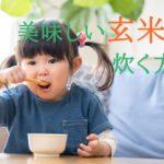 玄米ご飯の美味しい炊き方~炊飯器、圧力鍋、土鍋~【どれが1番おすすめなのか?】