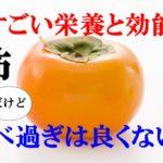 柿の栄養と効能!風邪予防と美容効果【妊婦さんは食べすぎ注意!?】