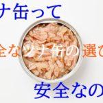 ツナ缶には水銀が含まれている!?【安全なツナ缶の選び方・3つのポイント】