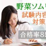 野菜ソムリエ資格試験の難易度は低い!?【内容と対策を知る】