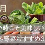 1月が旬の野菜【寒い時季こそ美味しい!冬に食べたいおすすめの野菜3選!】