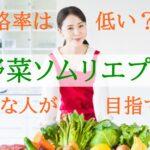 野菜ソムリエプロの合格率は?【専門家として仕事をするならプロを目指すべき】